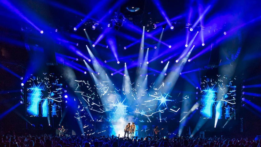 Scorpions Conclude North American Leg of Crazy World Tour 2017 with Support from Claypaky Fixtures