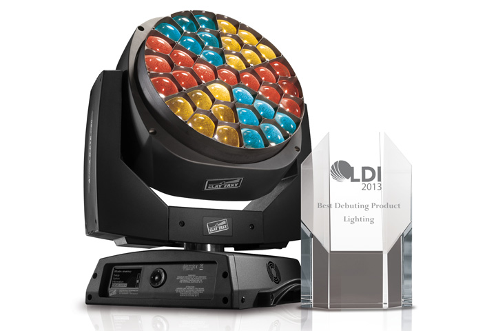 The Clay Paky B-EYE triumphs at LDI 2013