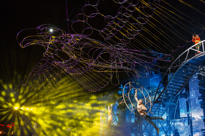 TranAlta's Grandstand Show at the Calgary Stampede Shines with Clay Paky Sharpys