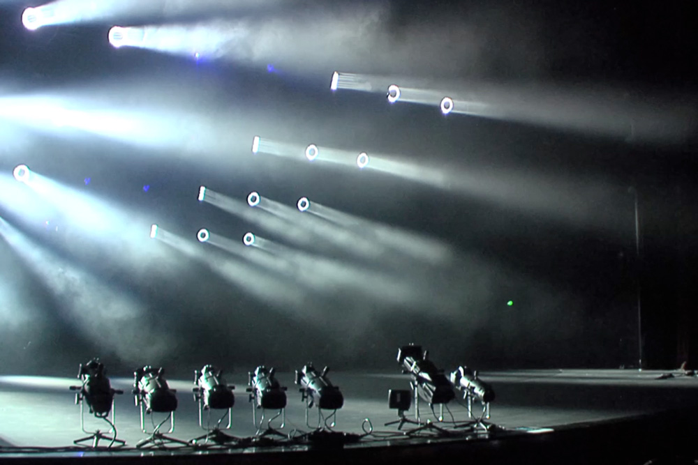 Vakhtangov Theater in Moscow Presents Music and Light Show Featuring Claypaky LED Moving Heads